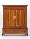 1/6 scale model of a kleiderschrank or clothes cupboard in the Joseph Schneider Haus Museum collection
