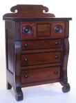 Small Empire chest of drawers