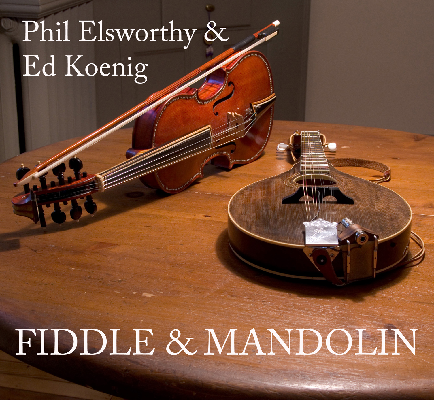 fiddle and mandolin front Face S